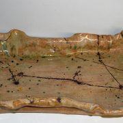 lange bruine design schaal
